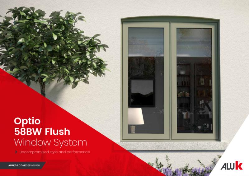 AluK 58BW Flush Window Brochure