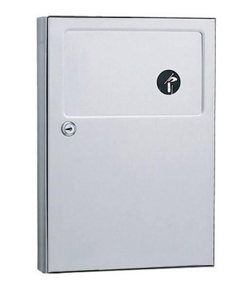 Surface-Mounted Sanitary Napkin Disposal B-254