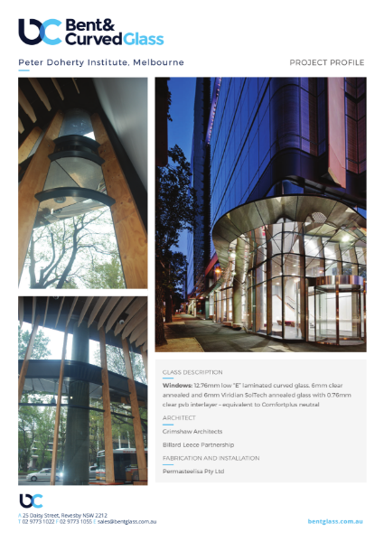 Project Profile - Peter Doherty Institute, Melbourne