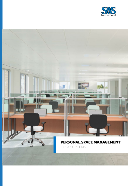 Personal Space Management Desk Screens