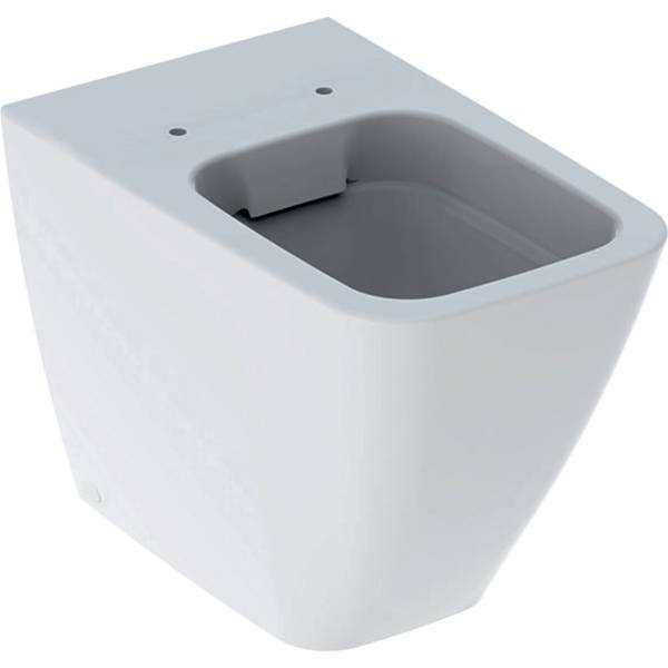 iCon Square floor-standing WC, washdown, back-to-wall, shrouded, Rimfree