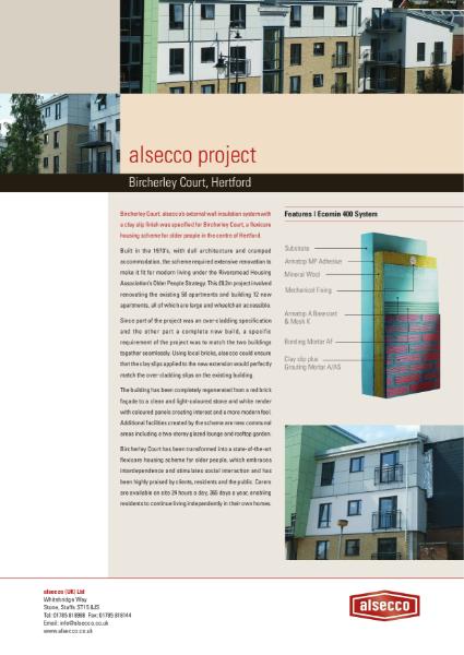 Bircherley Court Project Report