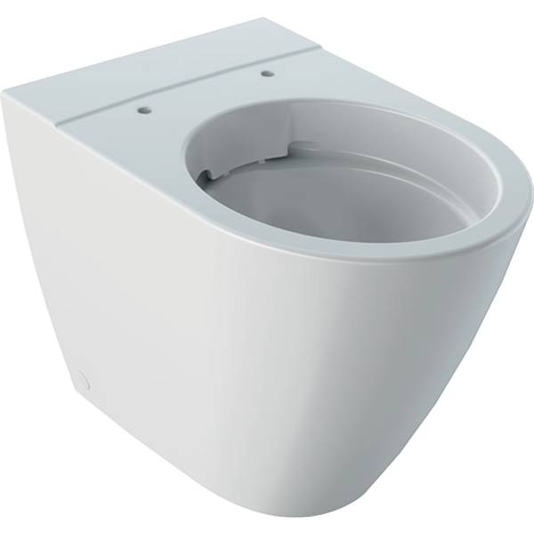 iCon floor-standing WC, washdown, back-to-wall, shrouded, Rimfree