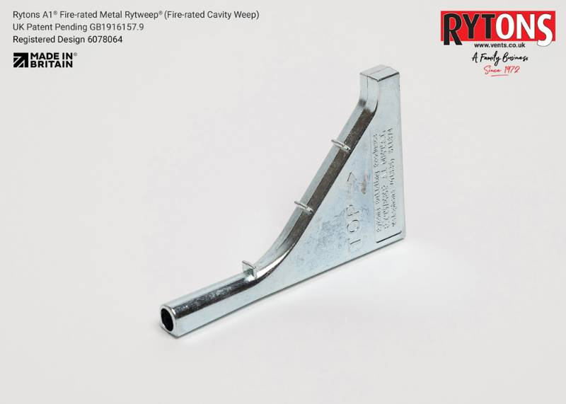 RYTWEA1METAL - Rytons A1 Fire-rated Metal Rytweep® (Fire-rated Cavity Weep)