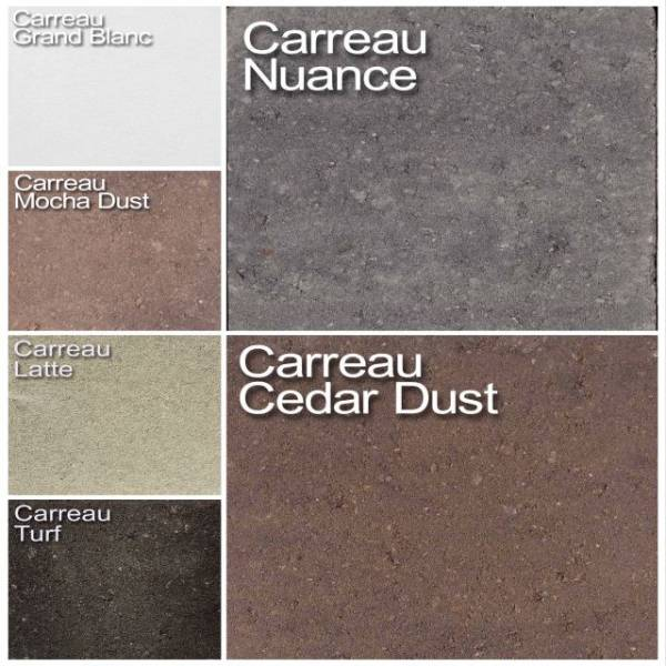 Carreau Range Concrete Pavers