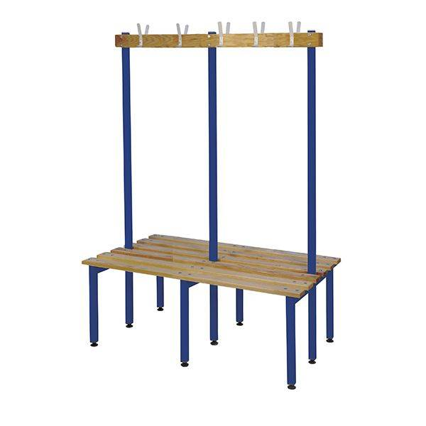 Changing Room Furniture - Single/Double Island with Hooks