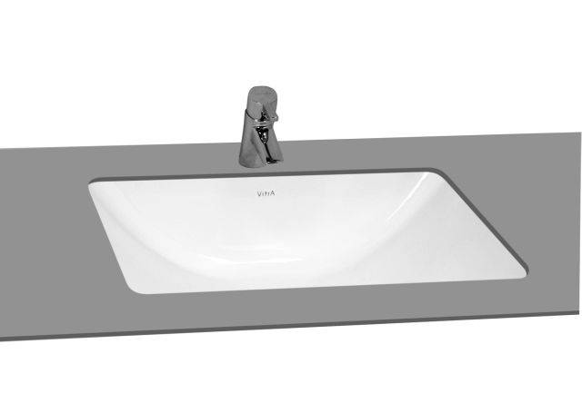 VitrA S50 Undercounter Washbasin, 48 cm, 5339