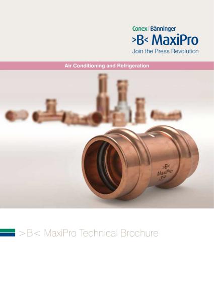 >B< MaxiPro Technical Brochure