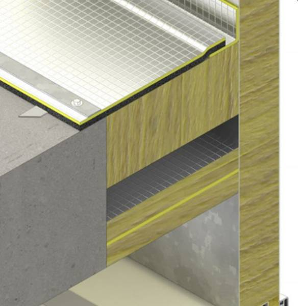 SIDERISE CVB/C Acoustic Void Barriers for Curtain Walling