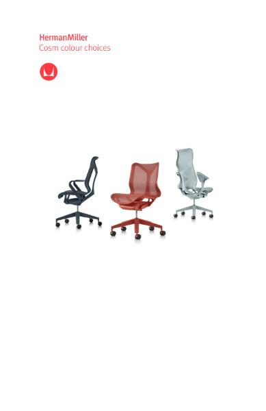Cosm Chair Colour Choices