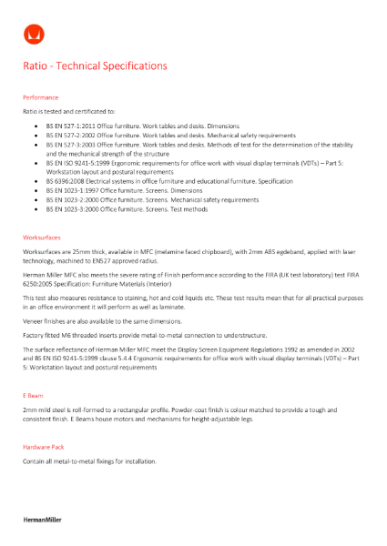 Ratio - Technical Specification