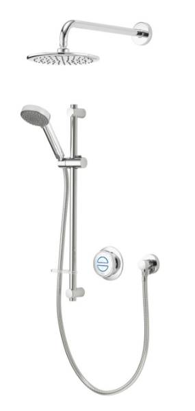 Quartz Classic Smart divert concealed adjustable with wall fixed head - HP