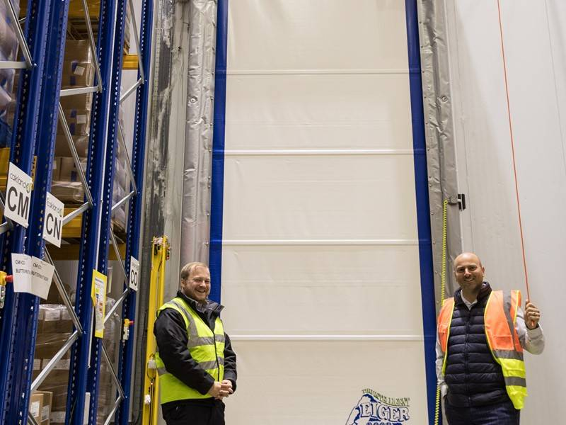Union Industries acts fast on supply of rapid roll freezer door