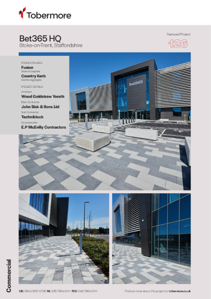 Featured project -  Bet 365, Stoke on Trent