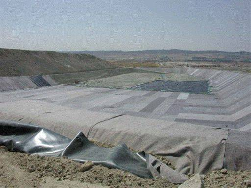 PEC (multi-coloured) Recycled Polyester Geotextile Fabrics