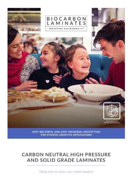 BioCarbon Laminates Anti-Microbial Brochure