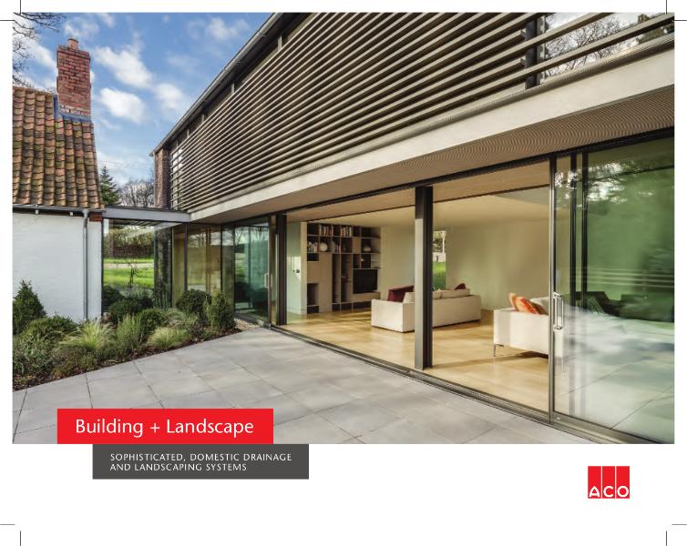 Building + Landscape Catalogue