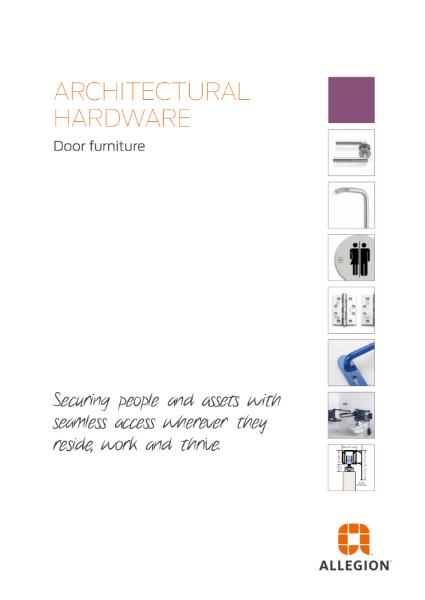 Allegion Door Furniture & Accessories
