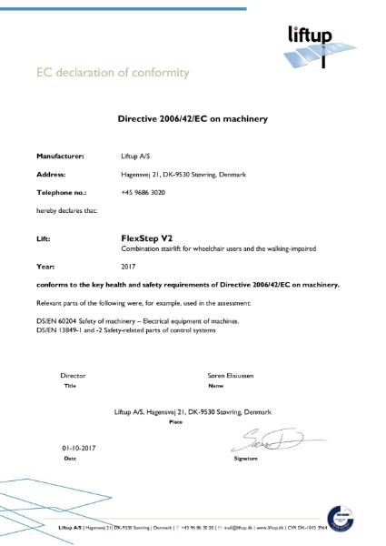 FlexStep CE Declaration