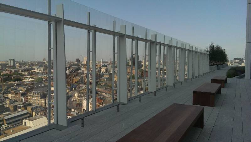 'Mini Shard' Requires Roof Terrace Waterproofing for Spectacular Views