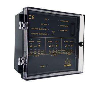 GS300M – 3 Channel Gas Detection Controller