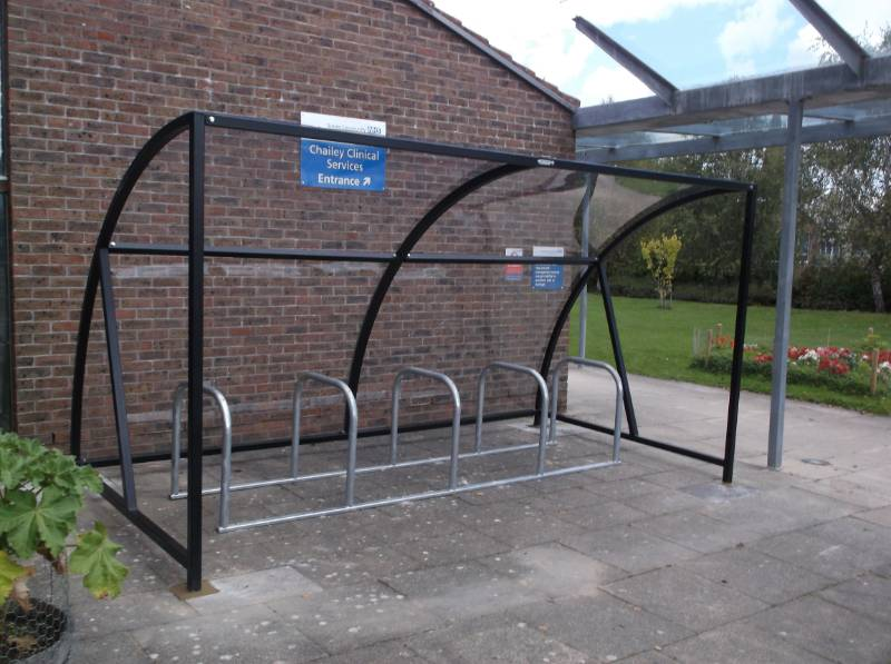 Canterbury Cycle Shelter