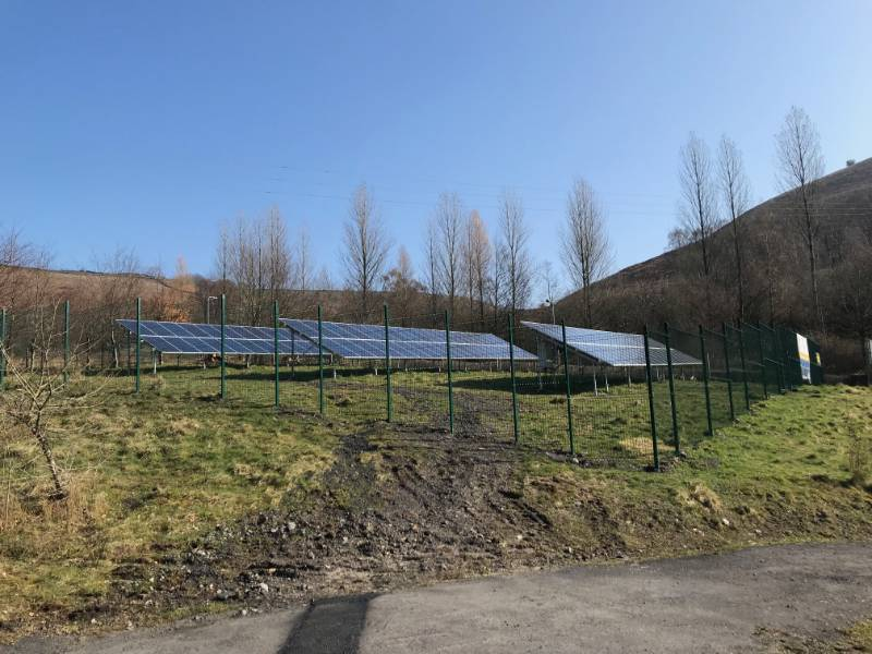 Summit Centre - Solar Panel System