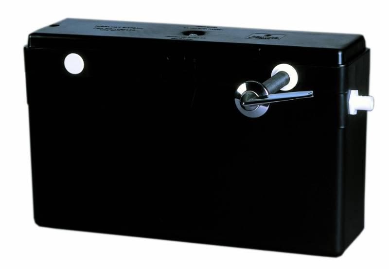 Concealed cistern lever 6/3–4/2.6 L delayed fill inlet valve