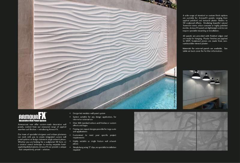 ArmourFX brochure