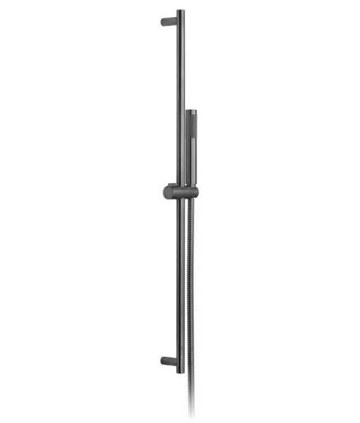 Round Single Function Slide Rail Shower Kit