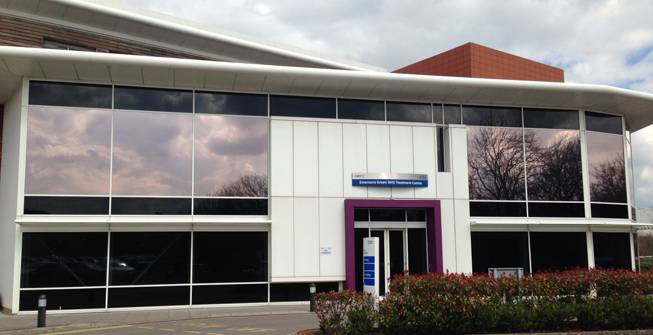 External Solar Control Film for NHS Building
