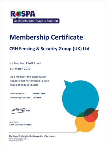 ROSPA Membership