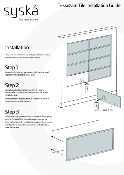 11 - Tessellate Tile Installation Guide