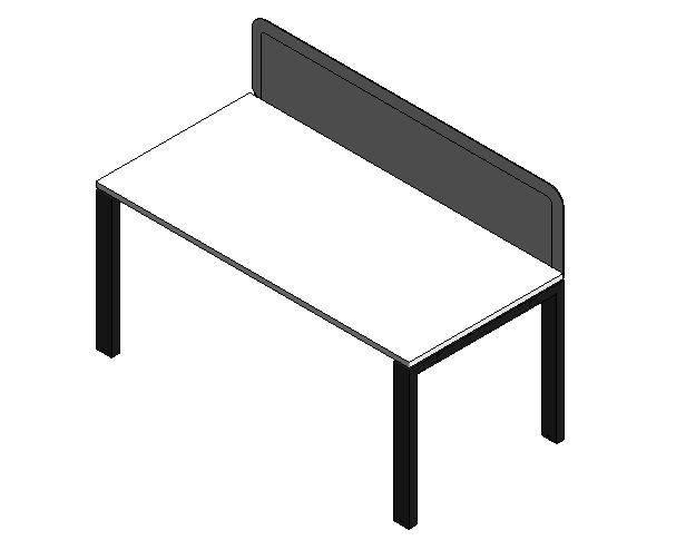Work2 Single Desk 1600mm