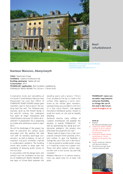 Roof Refurbishment for Grade 1 listed Building - Case Study