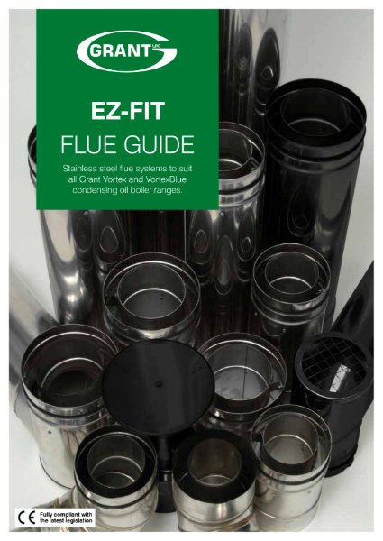 Oil Boiler EZ-Fit Flue guide