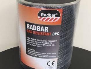 Radbar® Gas Resistant Damp Proof Course