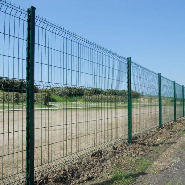 Nylofor 3D + Bekafix Ultra - Metal mesh fence panel
