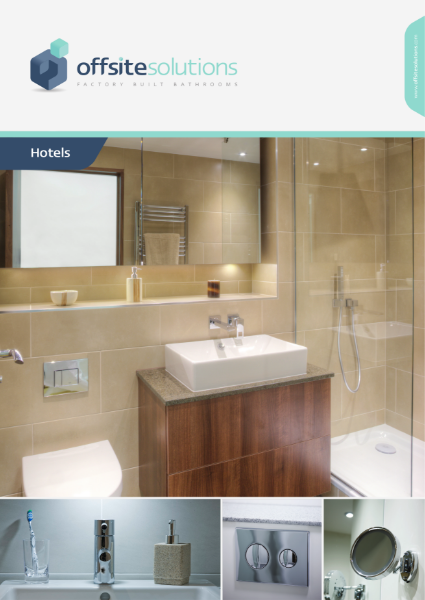 Offsite Solutions Hotel Bathroom Pods Brochure