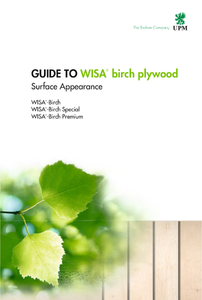 WISA-Birch Surface Appearance Guide