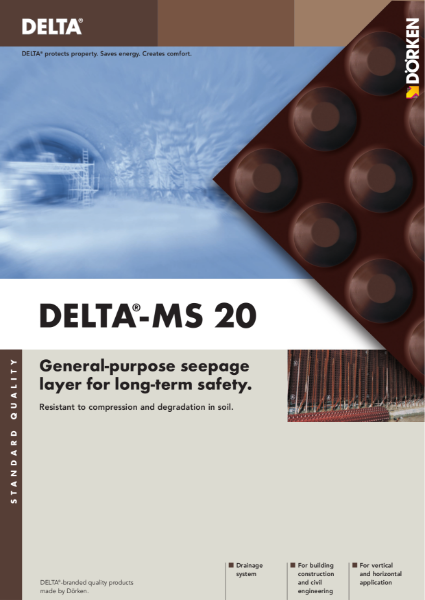 Delta-MS 20 Drainage System