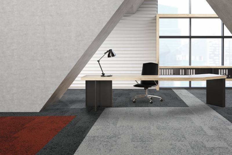Rainfall - Carpet tiles