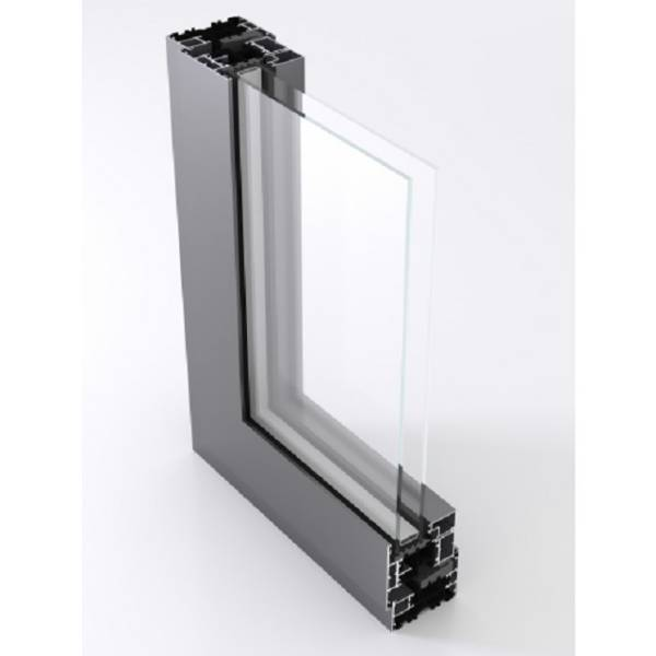AluK C70S Open In Thermally Broken Window System