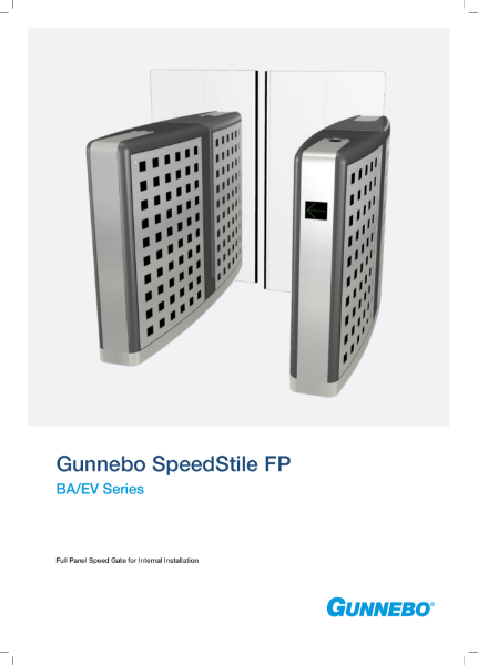 Speed Gate - SpeedStile FP BA/EV