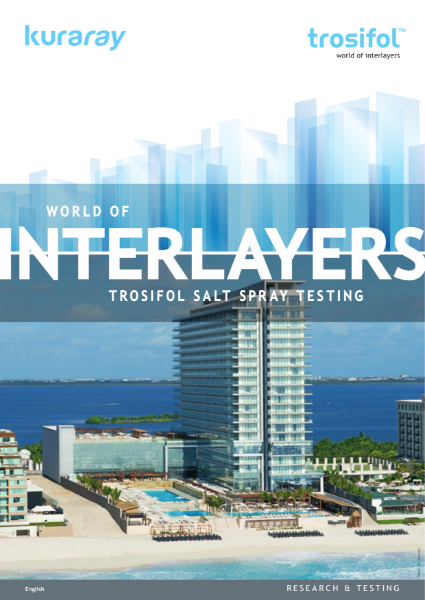 Salt spray testing  harsh but necessary to reinforce peace of mind for interlayer capabilities.