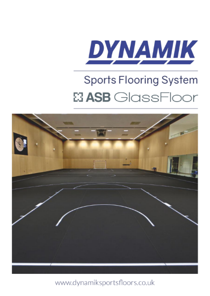 ASB GlassFloor by DYNAMIK - Area Elastic Glass Sprung Sports Floor