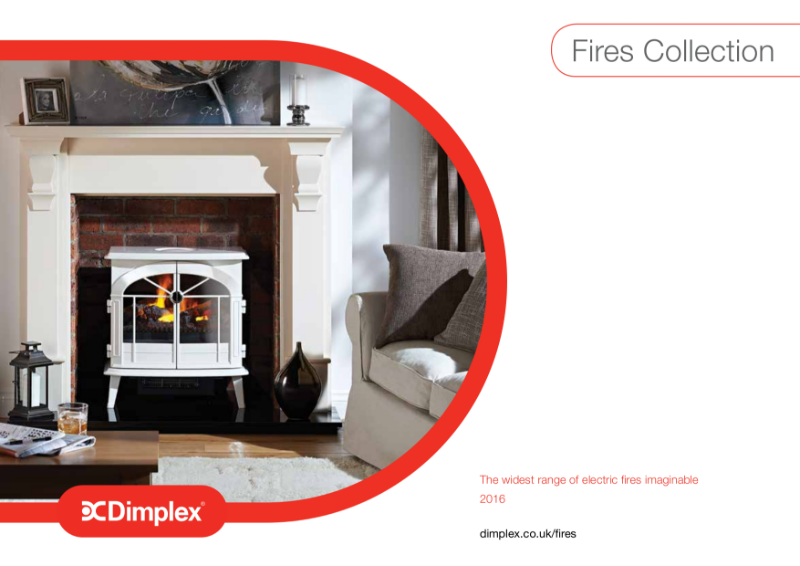I. Electric Fires Collection Brochure