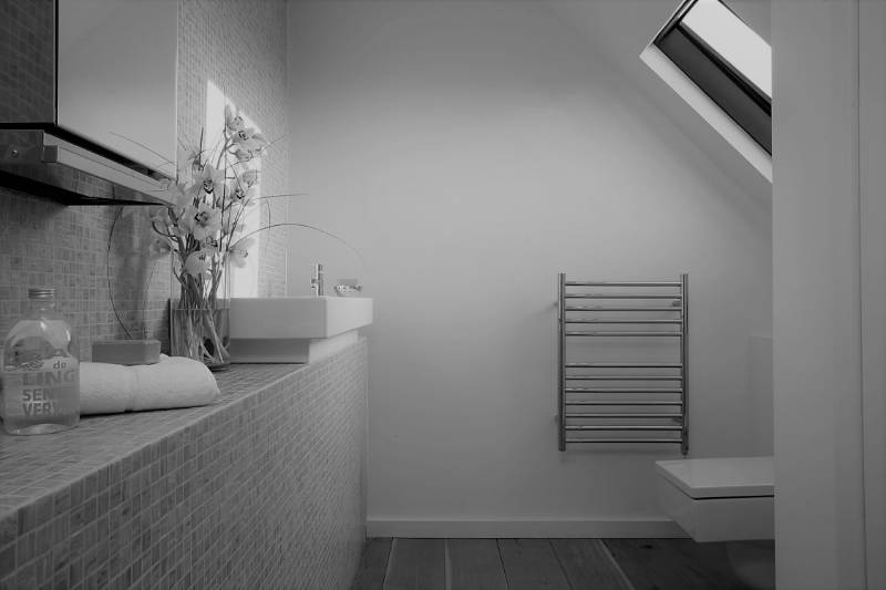 Ouse Stainless Steel Heated Towel Rail