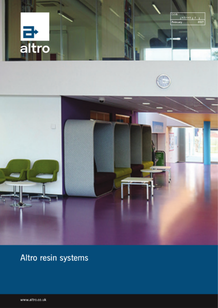 Altro Resin Systems Product Brochure