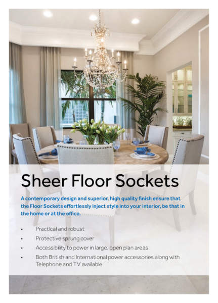 Sheer Floor Sockets